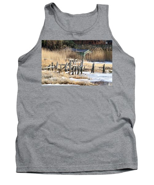 Old Dock And Boathouse  Tank Top