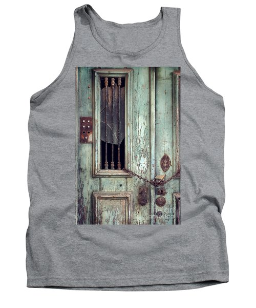 Old Door Detail Tank Top