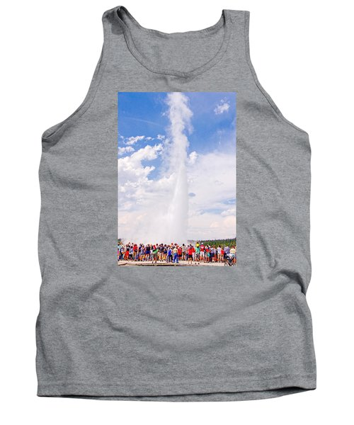 Old Faithful Surrounded Tank Top by Susan Crossman Buscho