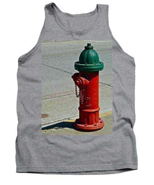 Old Fire Hydrant Tank Top