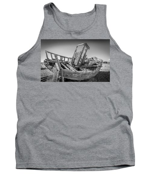 Old Fishing Boat. Tank Top