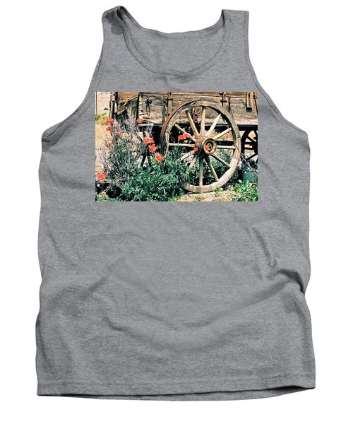 Old Freight Wagon Tank Top