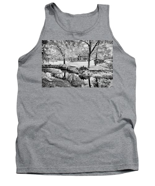 Tank Top featuring the photograph Old Frontier House by Paul W Faust - Impressions of Light