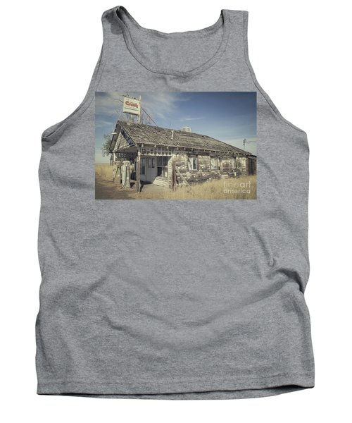 Tank Top featuring the photograph Old Gas Station by Robert Bales