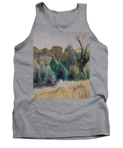 Old Growth Forest Tank Top by Patsy Sharpe