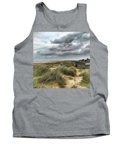 Old Hunstanton Beach, North #norfolk Tank Top