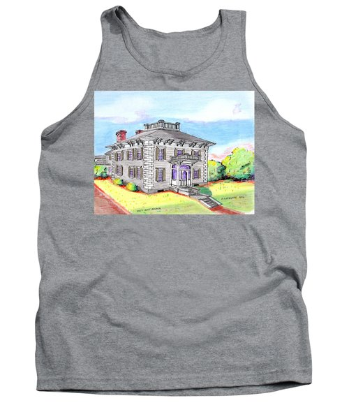 Old Hunt Hospital Tank Top by Paul Meinerth