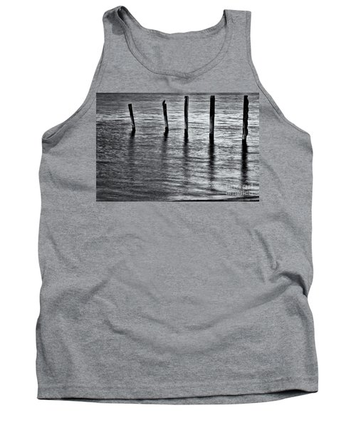 Tank Top featuring the photograph Old Jetty - S by Werner Padarin