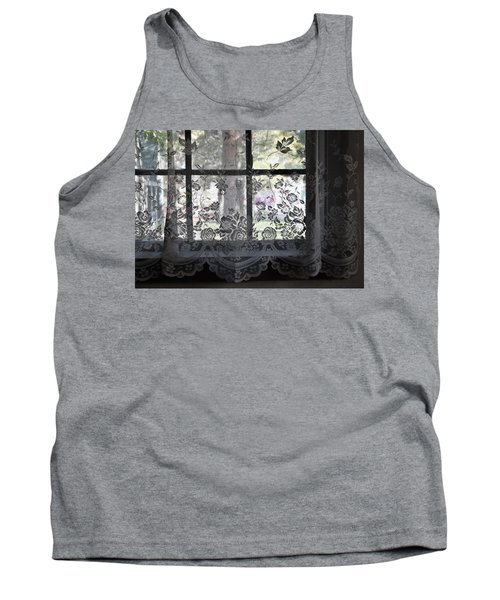Old Lace And Old Times Tank Top