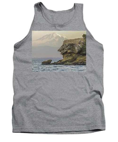 Old Man And The Mountain Tank Top
