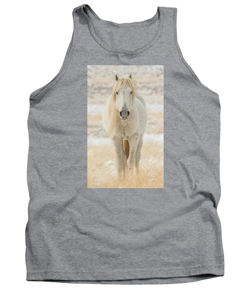 Old Man In Winter Tank Top