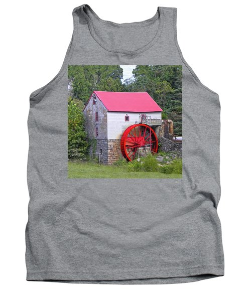 Old Mill Of Guilford Squared Tank Top by Sandi OReilly