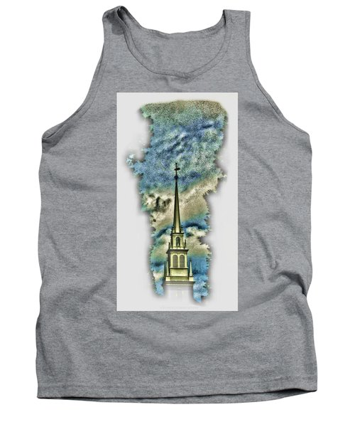 Old North Church Steeple Tank Top