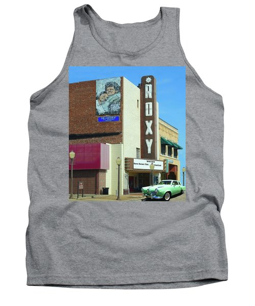 Old Roxy Theater In Muskogee, Oklahoma Tank Top