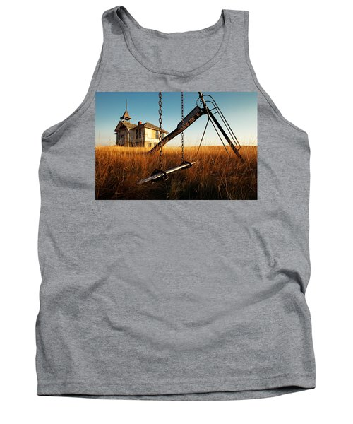 Old Savoy Schoolhouse Tank Top