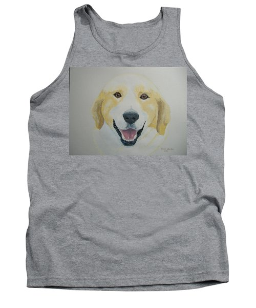 Tank Top featuring the painting Old Shep by Norm Starks