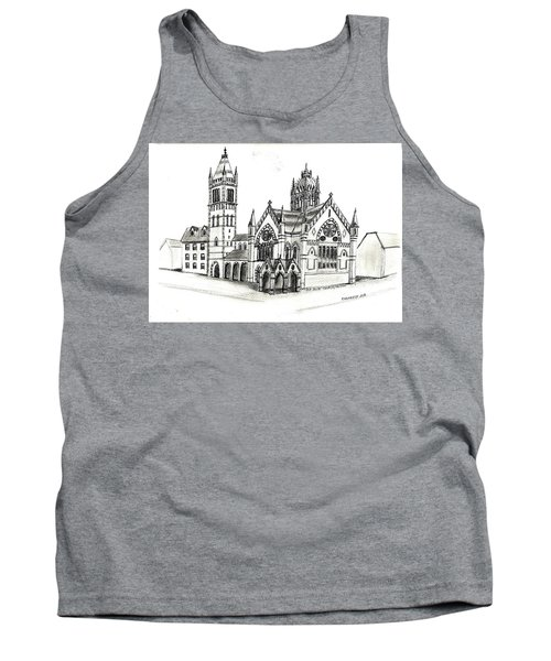 Old South Church - Bosotn Tank Top by Paul Meinerth