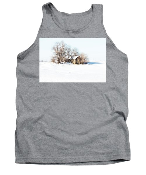 Tank Top featuring the photograph Old  Stone House Milford by Julie Hamilton