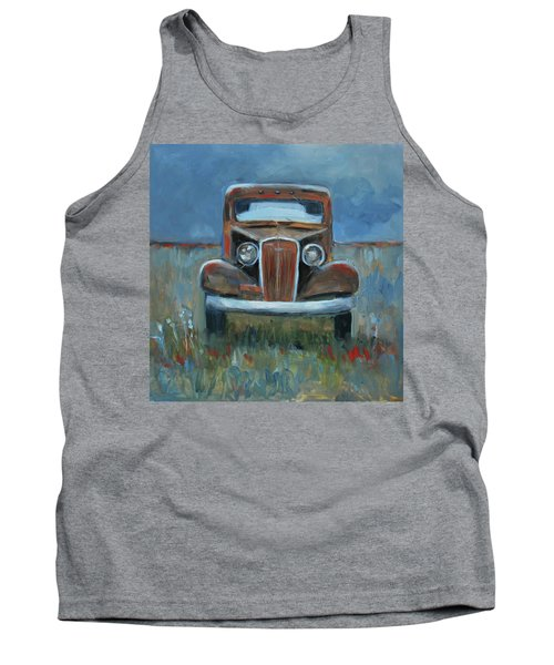 Tank Top featuring the painting Old Timer by Billie Colson