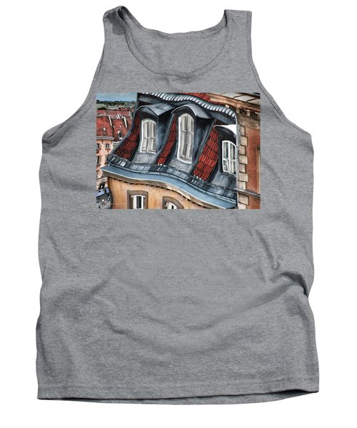 Old Town In Warsaw #19 Tank Top