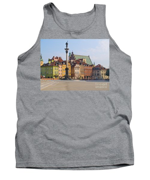 Old Town Square Zamkowy Plac In Warsaw Tank Top
