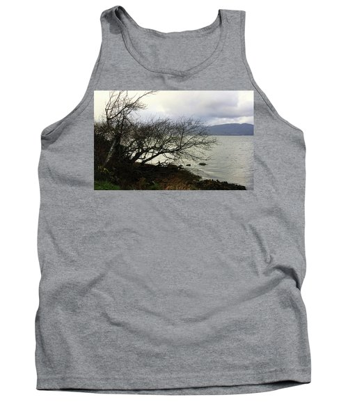 Old Tree By The Bay Tank Top