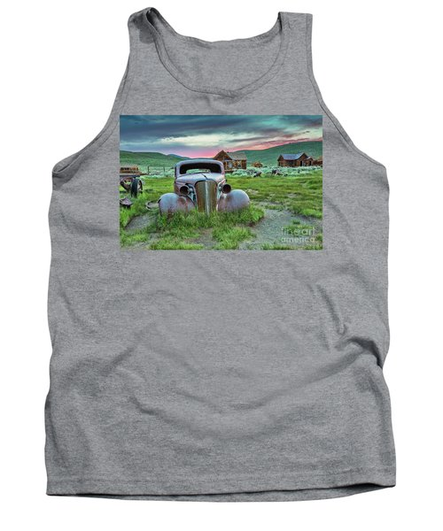 Old Truck In Bodie Tank Top