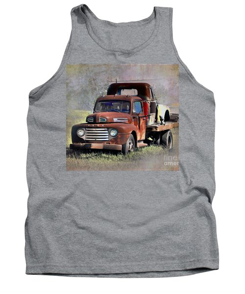 Tank Top featuring the photograph Old Trucks by Savannah Gibbs