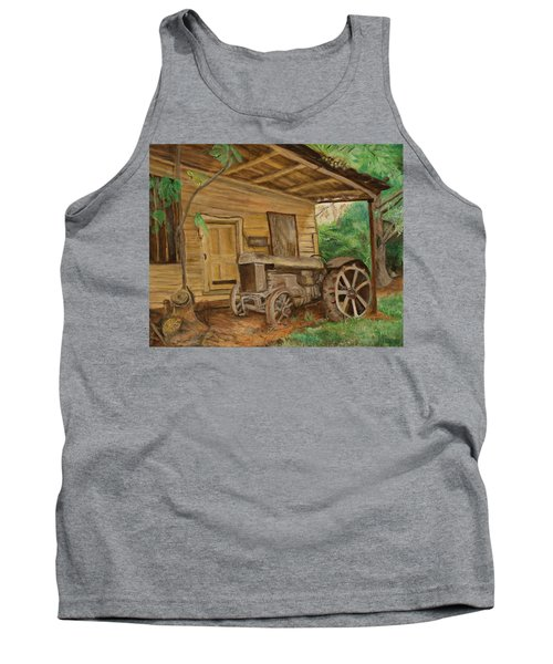 Oldtime Tractor Tank Top