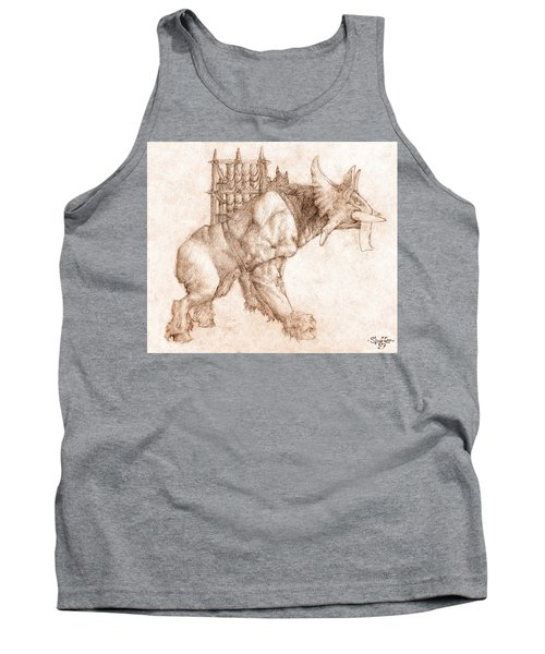Oliphaunt Tank Top by Curtiss Shaffer