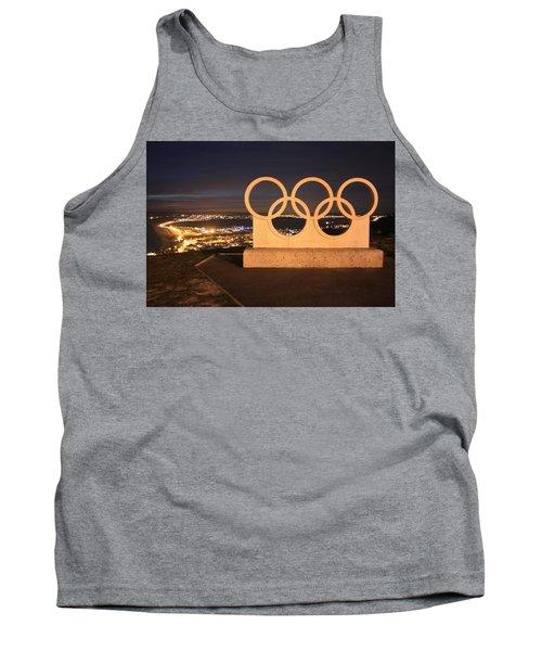 Olympic Rings Portland  Tank Top