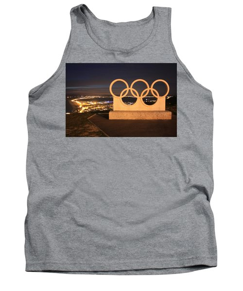 Olympic Rings Portland  Tank Top