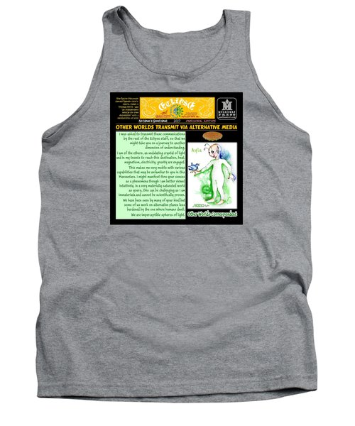 Omniscire Other Worlds Correspondent Tank Top by Dawn Sperry