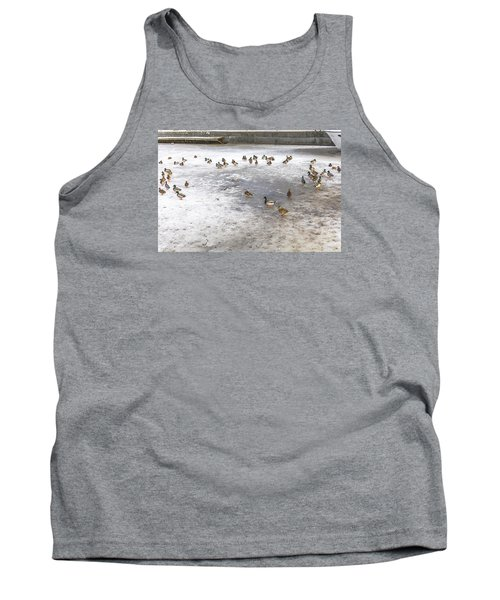 On Ice  Tank Top by Leif Sohlman