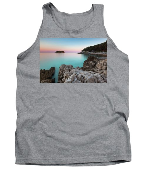 On The Beach In Dawn Tank Top