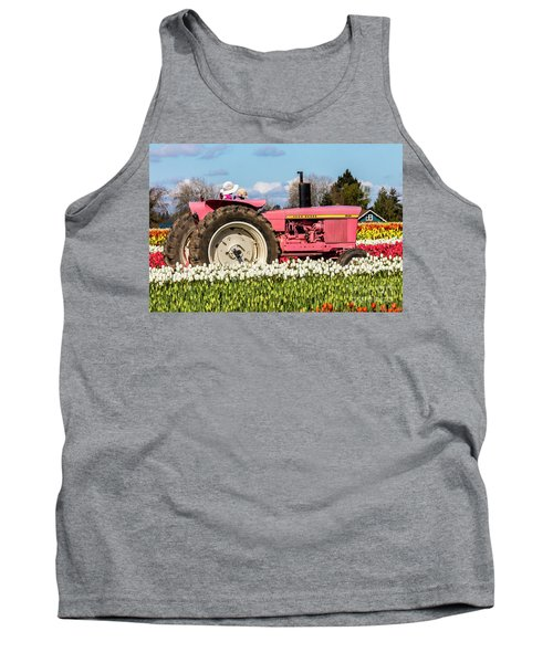 On The Field Of Beauty Tank Top