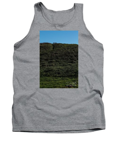 On The Hill Tank Top by Gary Bridger