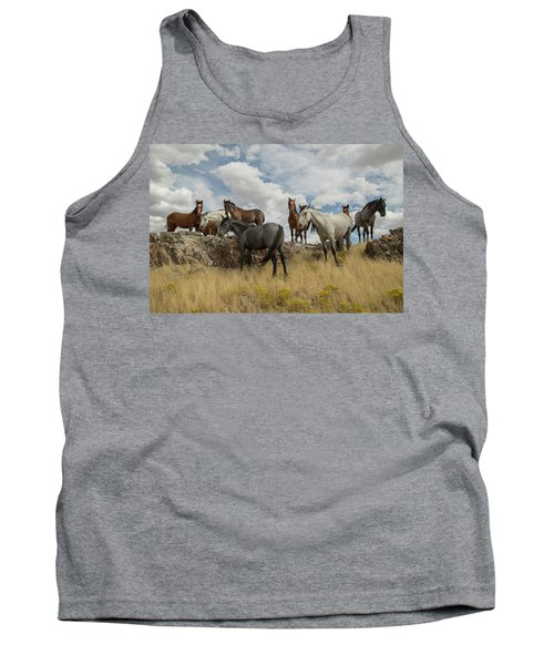 On The Mountain Top Tank Top
