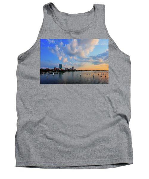 On The River Tank Top by Rick Berk