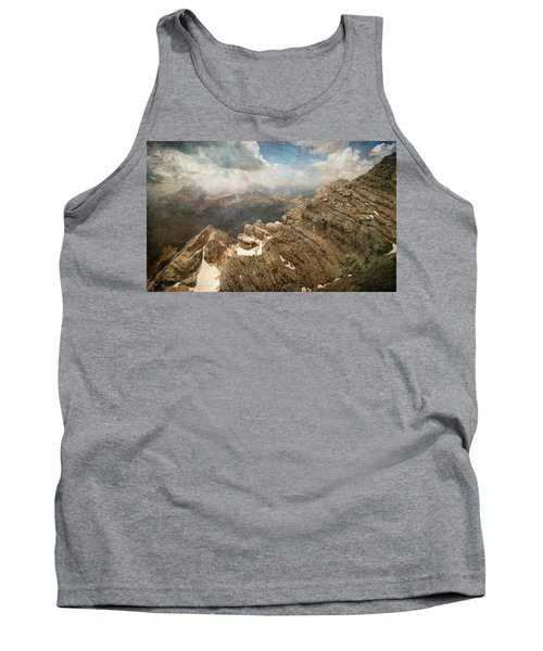 On The Top Of The Mountain  Tank Top