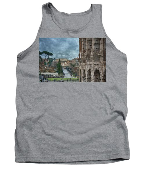On The Trail Of The Old Romans Tank Top