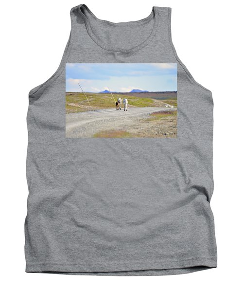 On The Way Tank Top