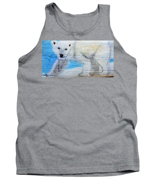 On Thin Ice Tank Top by Ann Michelle Swadener