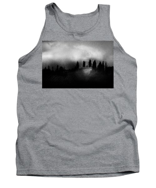 On Top Of The Hill Tank Top by Celso Bressan