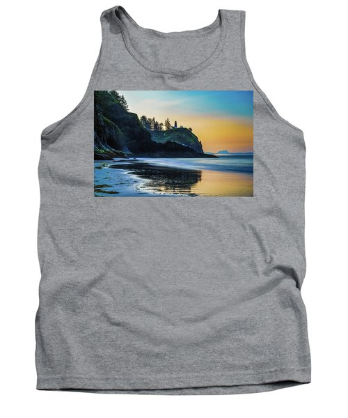 One Morning At The Beach Tank Top by Ken Stanback