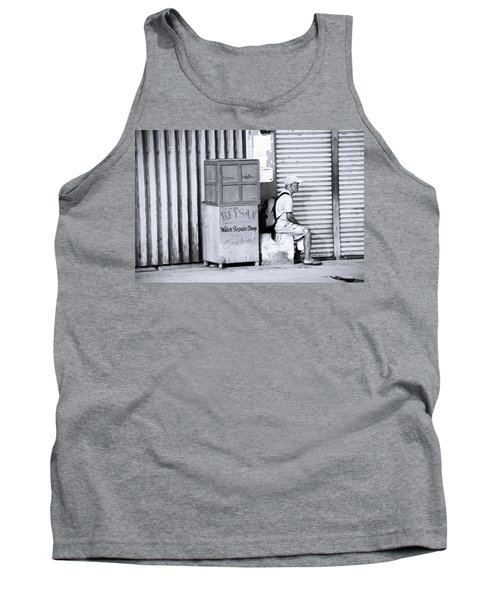 One Of 1000's Of Lonely Souls Tank Top by Jez C Self