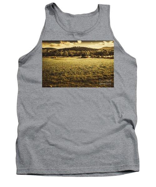 Open Fields Of Woodstock Tasmania Tank Top