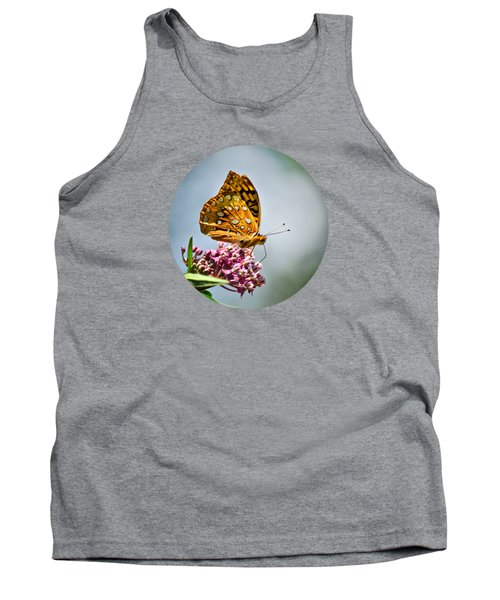 Tank Top featuring the photograph Orange Butterfly by Christina Rollo