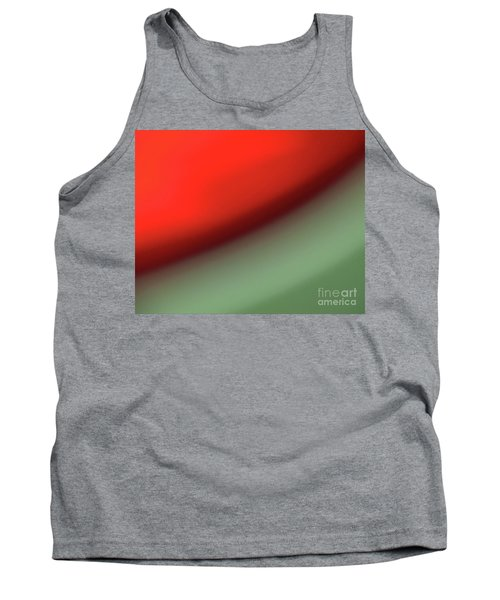 Tank Top featuring the photograph Orange Red Green by CML Brown