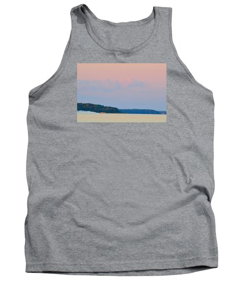 Tank Top featuring the photograph Orange Speedboat 2  by Lyle Crump